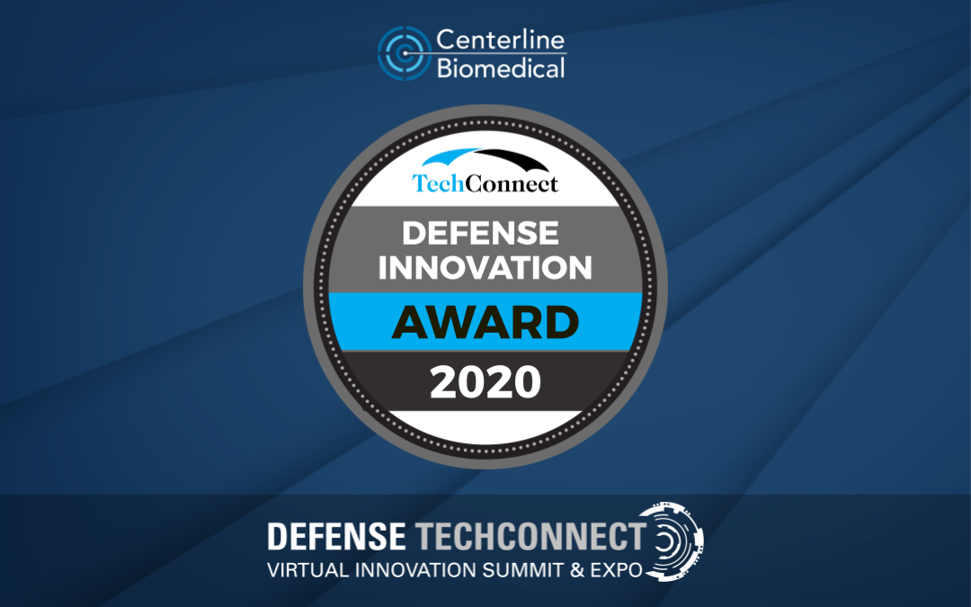Centerline Biomedical selected as a 2020 TechConnect Defense Innovation Awardee